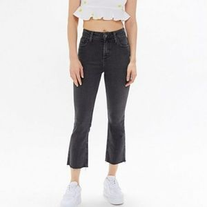 NWOT BDG Kick Flare High Rise Cropped Jeans